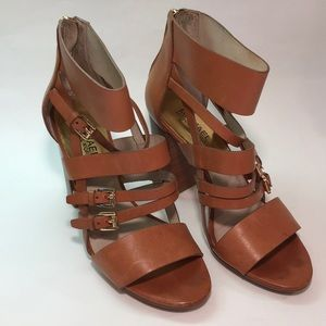 Michael Kors straps and buckles sandals. Sz 9